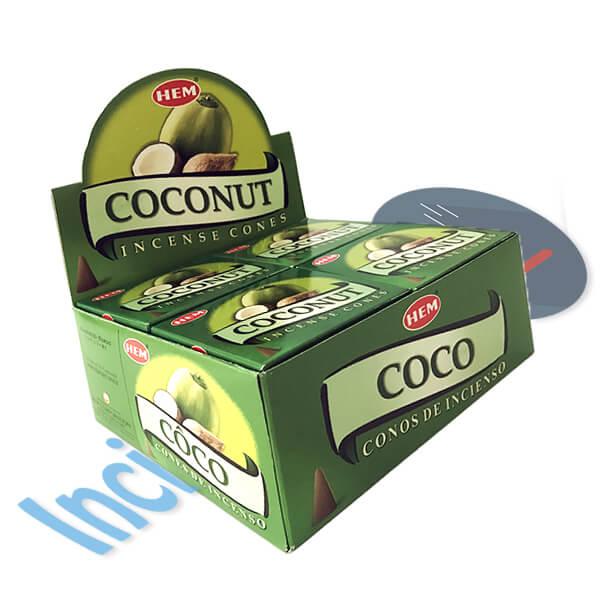 Descubre los secretos del incienso Coco - Secretos divinos
